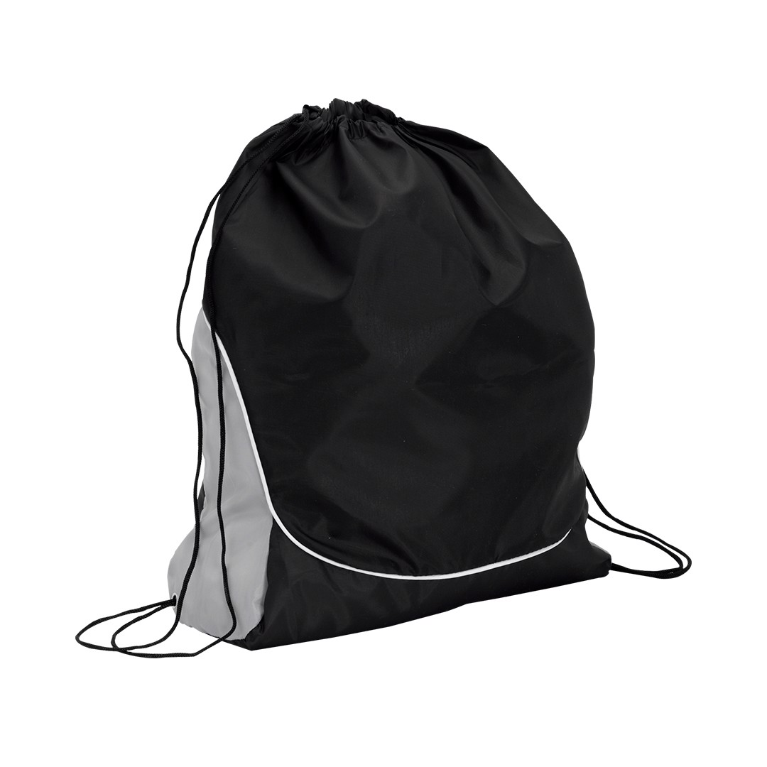 Drawstring Bag Dual - Black
