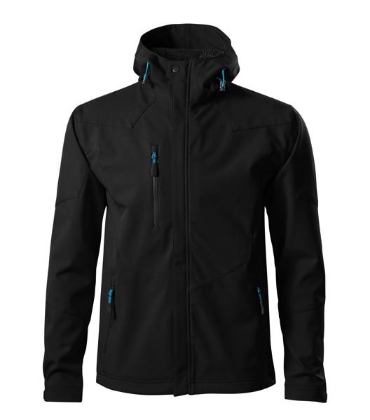 Softshellová bunda pánská Malfini Nano - Černá / L