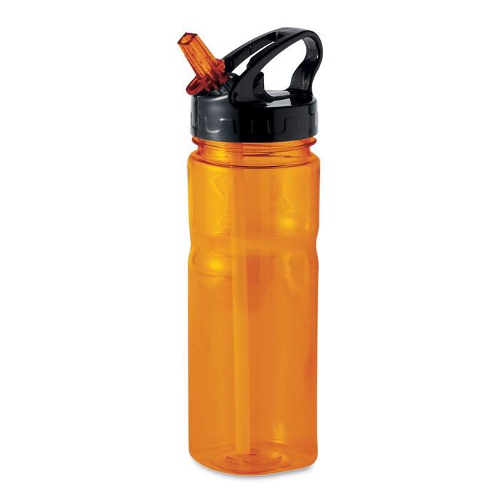 500 ml PCTG bottle Nina - Transparent Orange