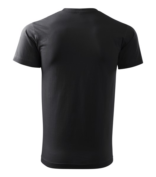 T-shirt men's Malfini Basic - Ebony Gray / L