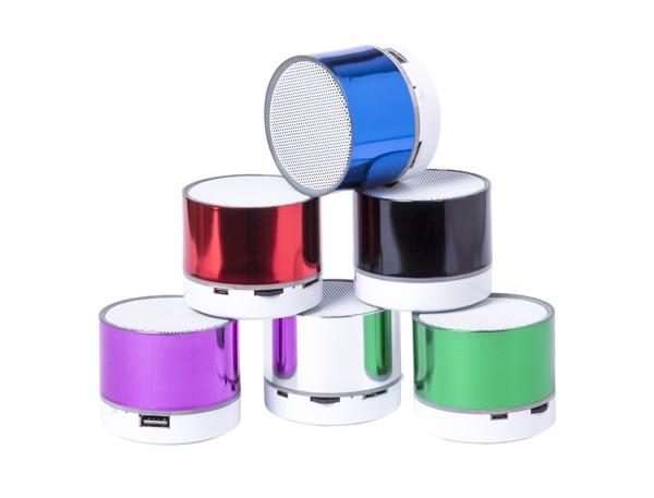 Bluetooth Reproduktor Viancos - Stříbrná / Bílá