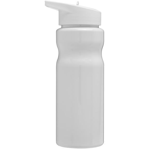 H2O Base® 650 ml spout lid sport bottle - White