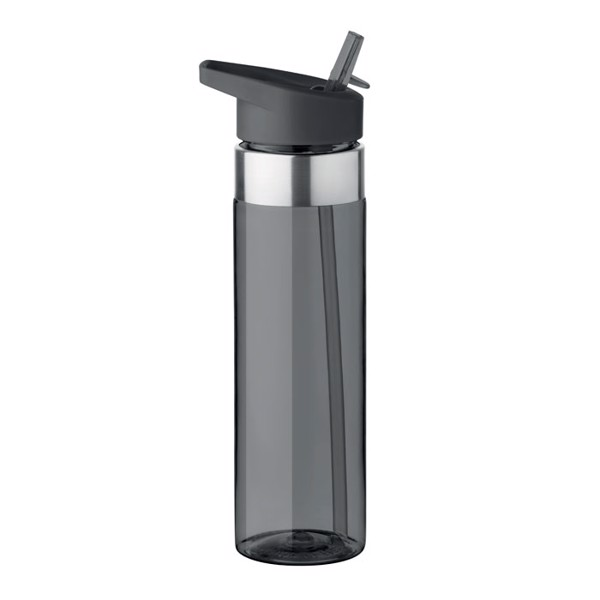 650 ml tritan bottle Sicilia - Transparent Grey
