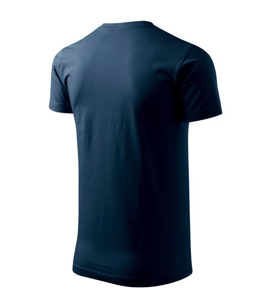 Tričko pánské Malfini Basic - Námořní Modrá / S