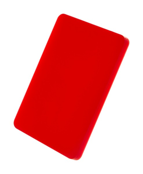 Custom Made Keyring CreaFob - Red
