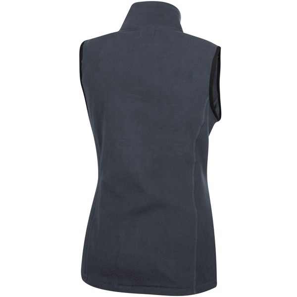 Tyndal women's fleece bodywarmer - Storm grey / S