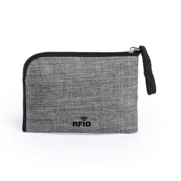 Purse and Card Holder Vatien - Grey