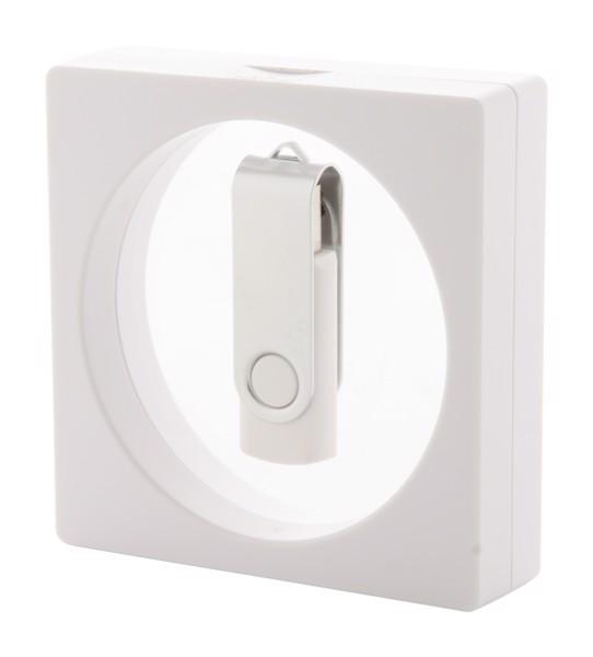 Večnamenska škatla Kibal - bela/prozorna