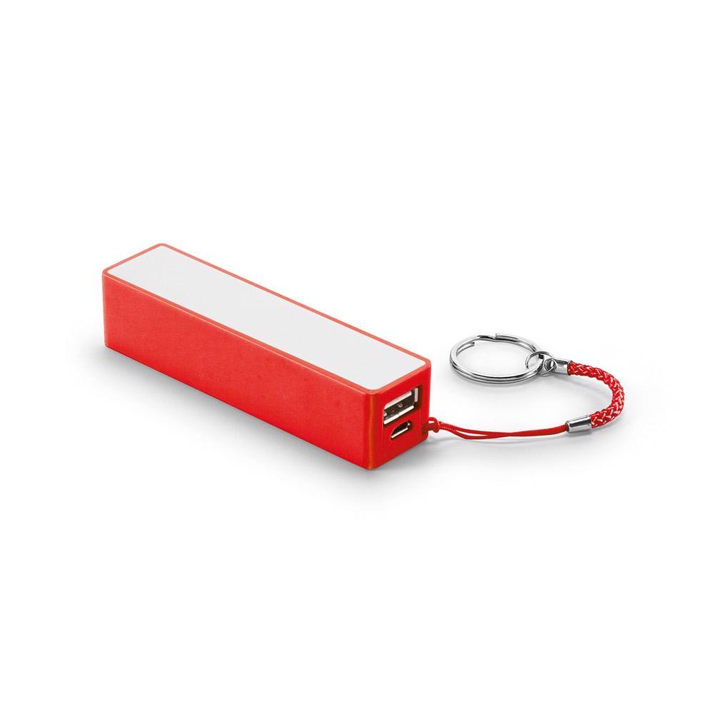GIBBS. Φορητή μπαταρία 2'000 mAh - Κόκκινο