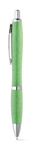 TERRY. Bolígrafo fibra de paja de trigo y ABS - Verde Claro