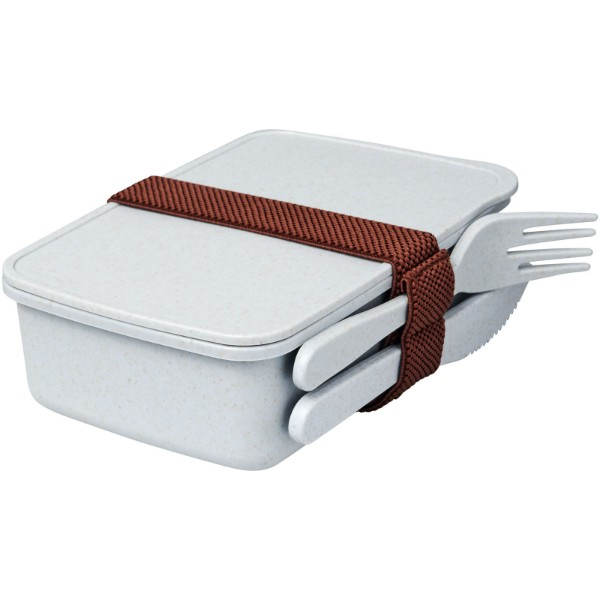 Bamberg bamboo fibre lunch box - Grey