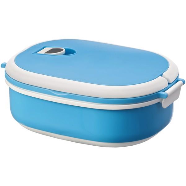 """Fiambrera de 750ml """"Spiga"""" - Azul / Blanco"""