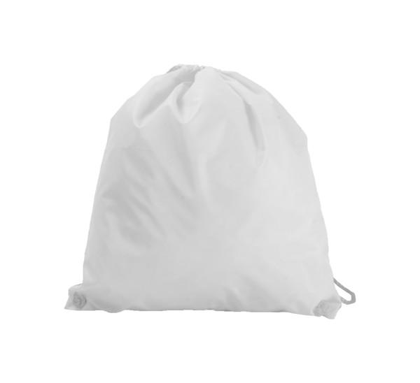 Drawstring Bag Jock - White