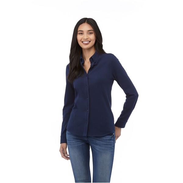 Dámská košile Bigelow s dlouhým rukávem - Světle modrá / S