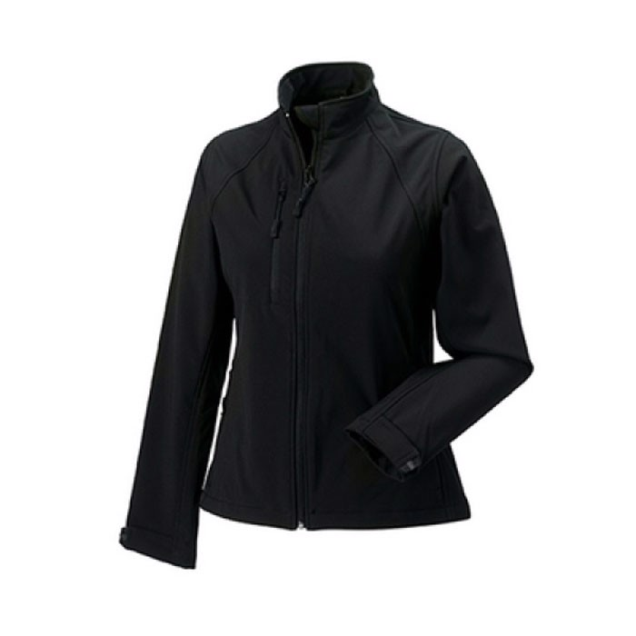 Ladies Softshell 340 g/m2 Ladies Soft Shell R-140F-0 - Black / XL