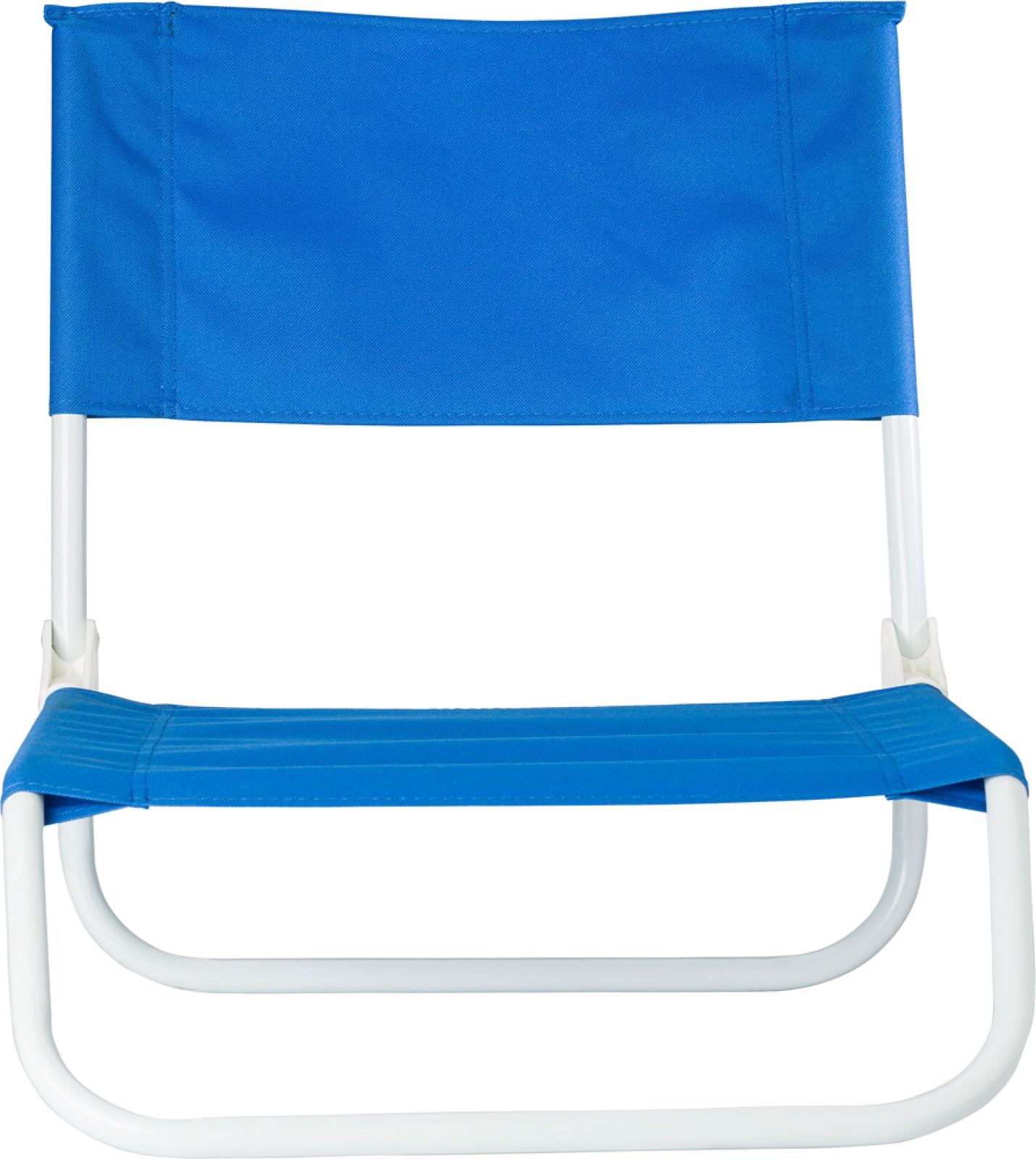 PVC beach chair - Cobalt Blue