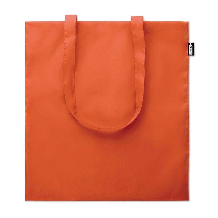 Bolsa de compra de RPET Totepet - naranja