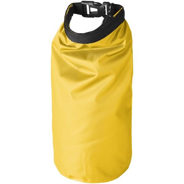 Nepromokavý vak Tourist, 2 l, outdoorový styl s pouzdrem na telefon - Žlutá