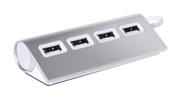Usb Hub Weeper - Silver / White