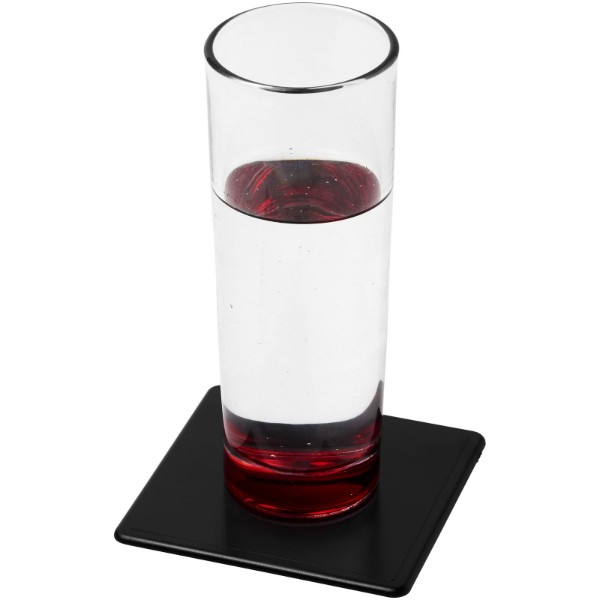 Terran square coaster with 100% recycled plastic