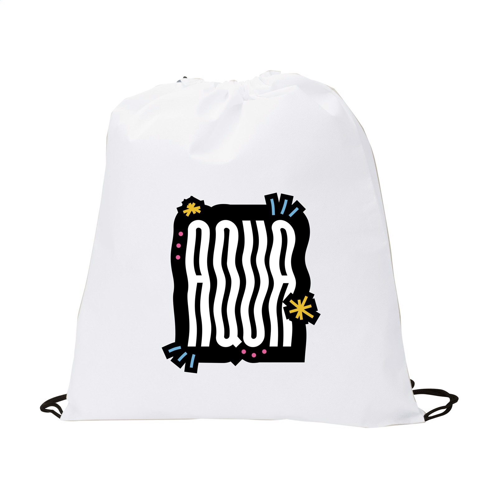 Non-Woven PromoBag backpack - White