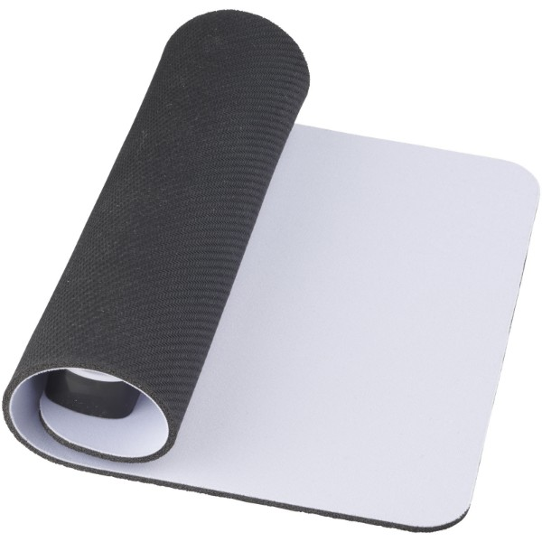 Cache mouse pad with USB hub - White