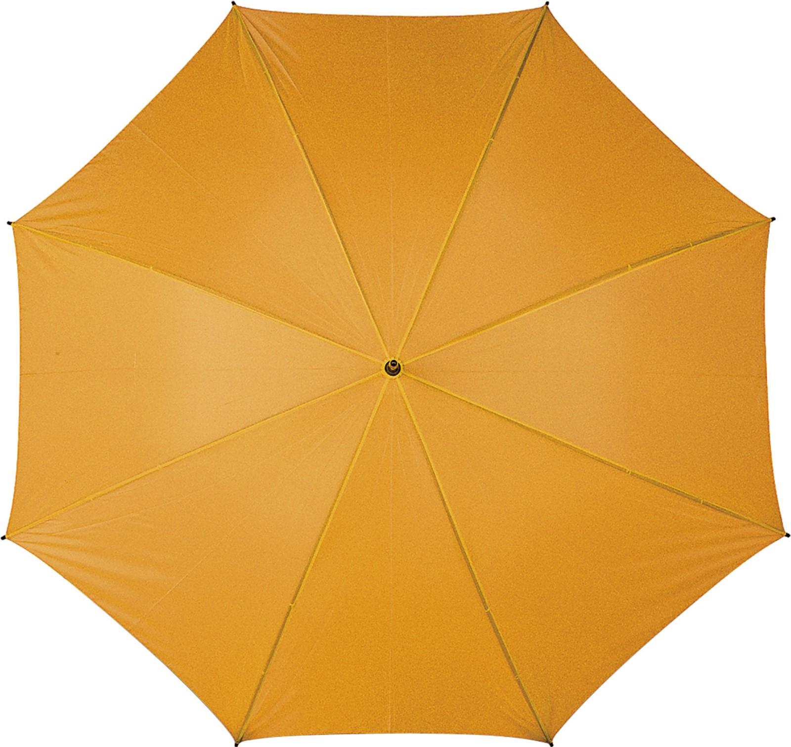 Polyester (210T) umbrella - Orange