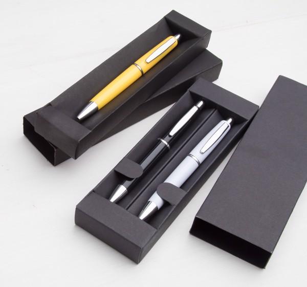 Darilna škatla za pisalo Kyra - črna