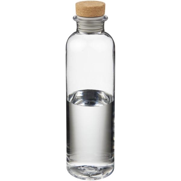 """Botella de Tritan™ de 650 ml con tapón de corcho """"Sparrow"""" - Transparente claro"""