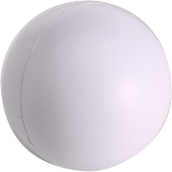 PU foam stress ball - White