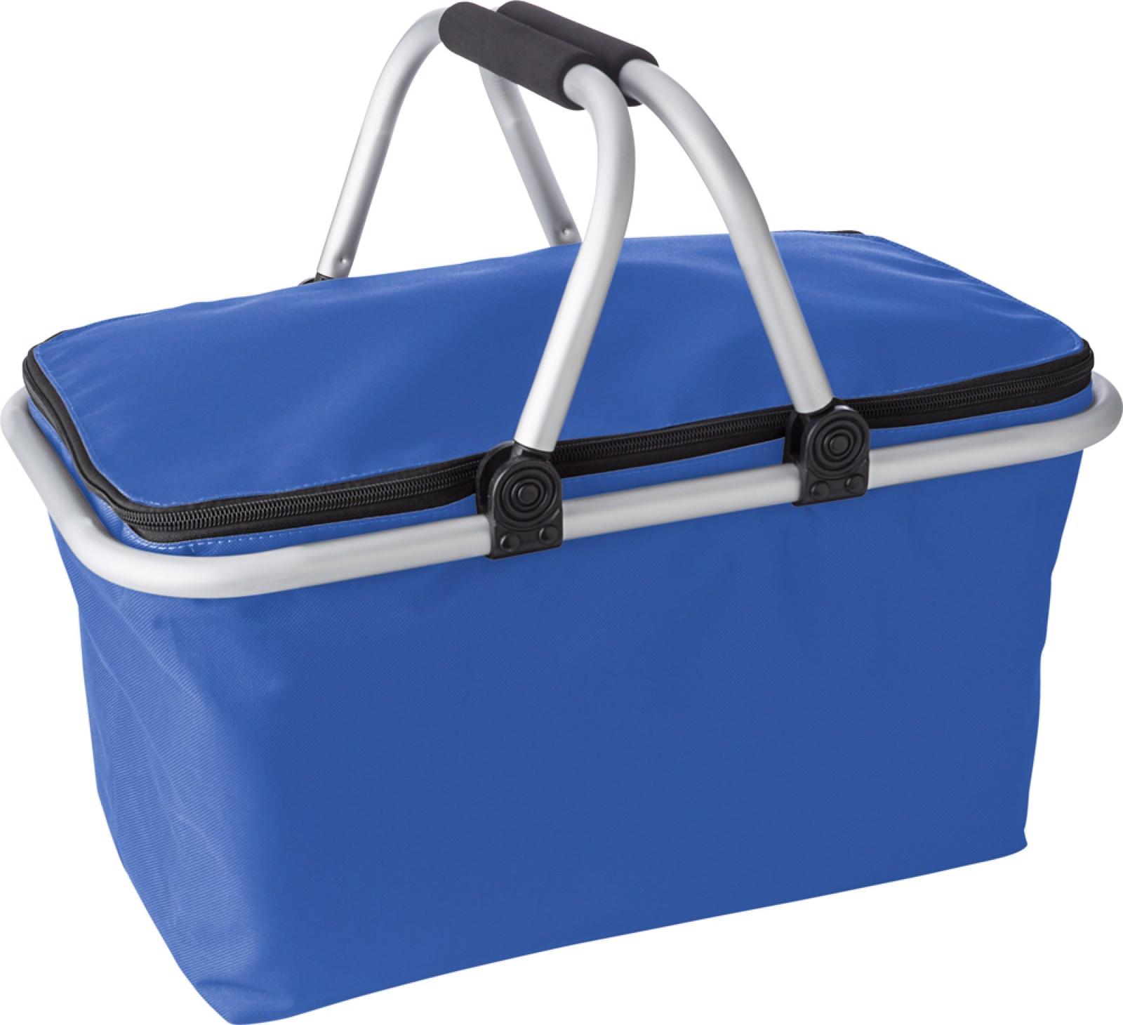 Polyester (320-330 gr/m²) shopping basket. - Cobalt Blue