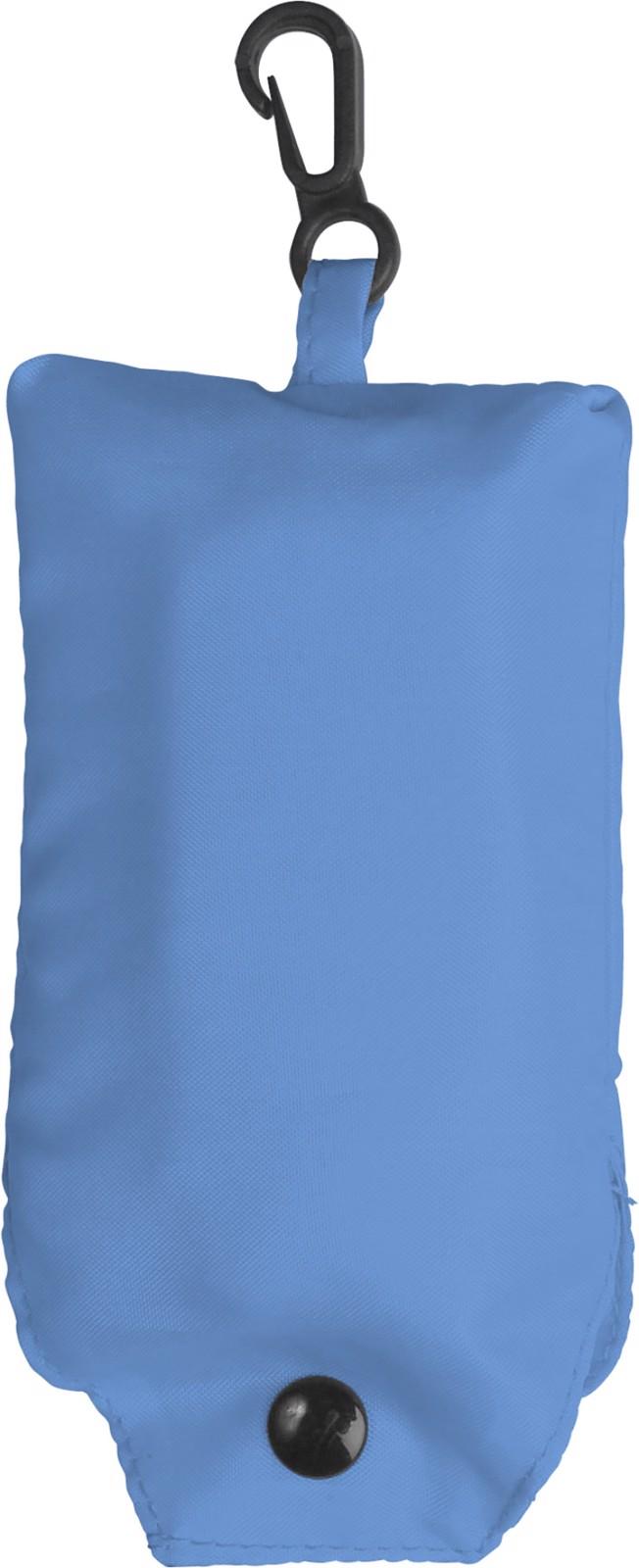 Polyester (190T) shopping bag - Light Blue