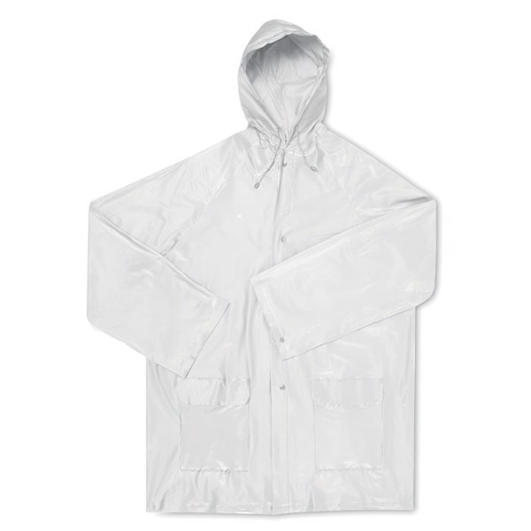 PEVA raincoat Majestic - Transparent