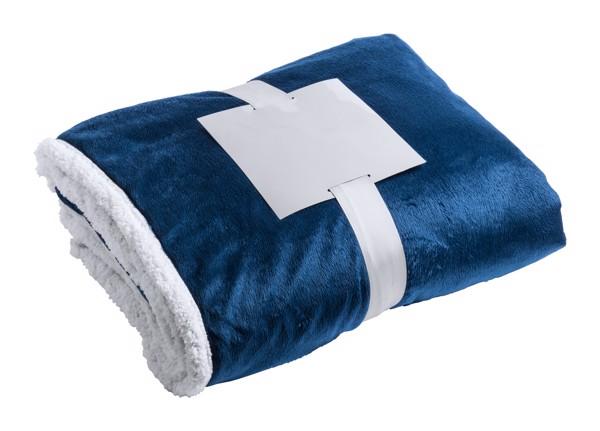 Blanket Lerten - Dark Blue