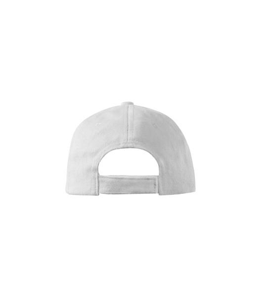Cap Kids Malfini 6P Kids - White / adjustable