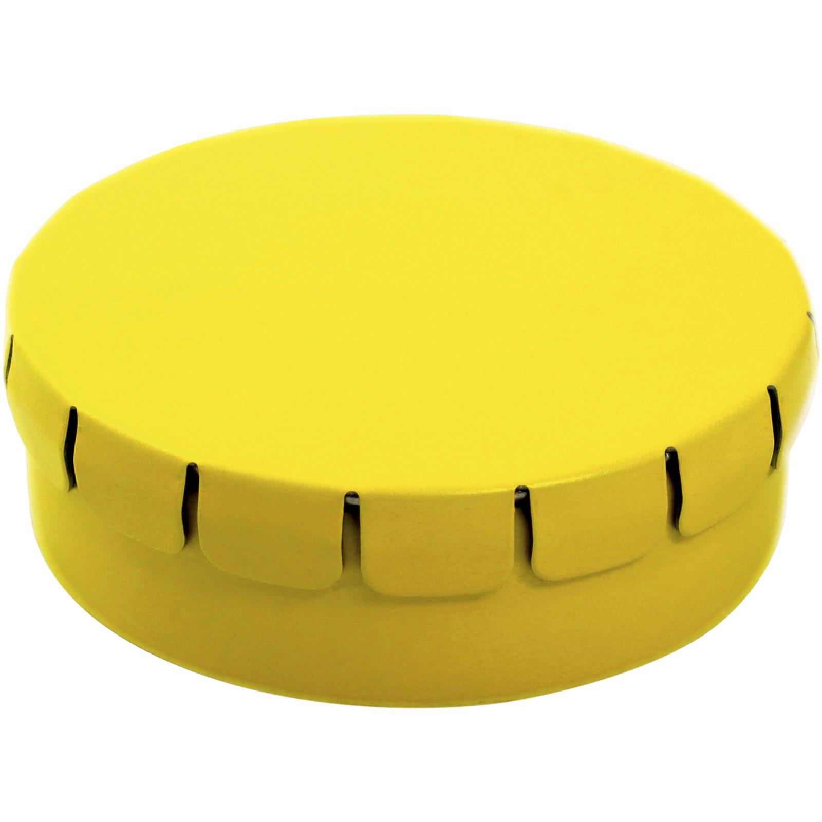 Clic clac bonbony s citronovou a mátovou příchutí - Žlutá