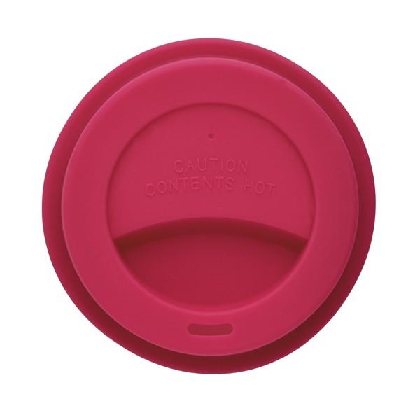 PLA hrnek - Růžová / Bílá