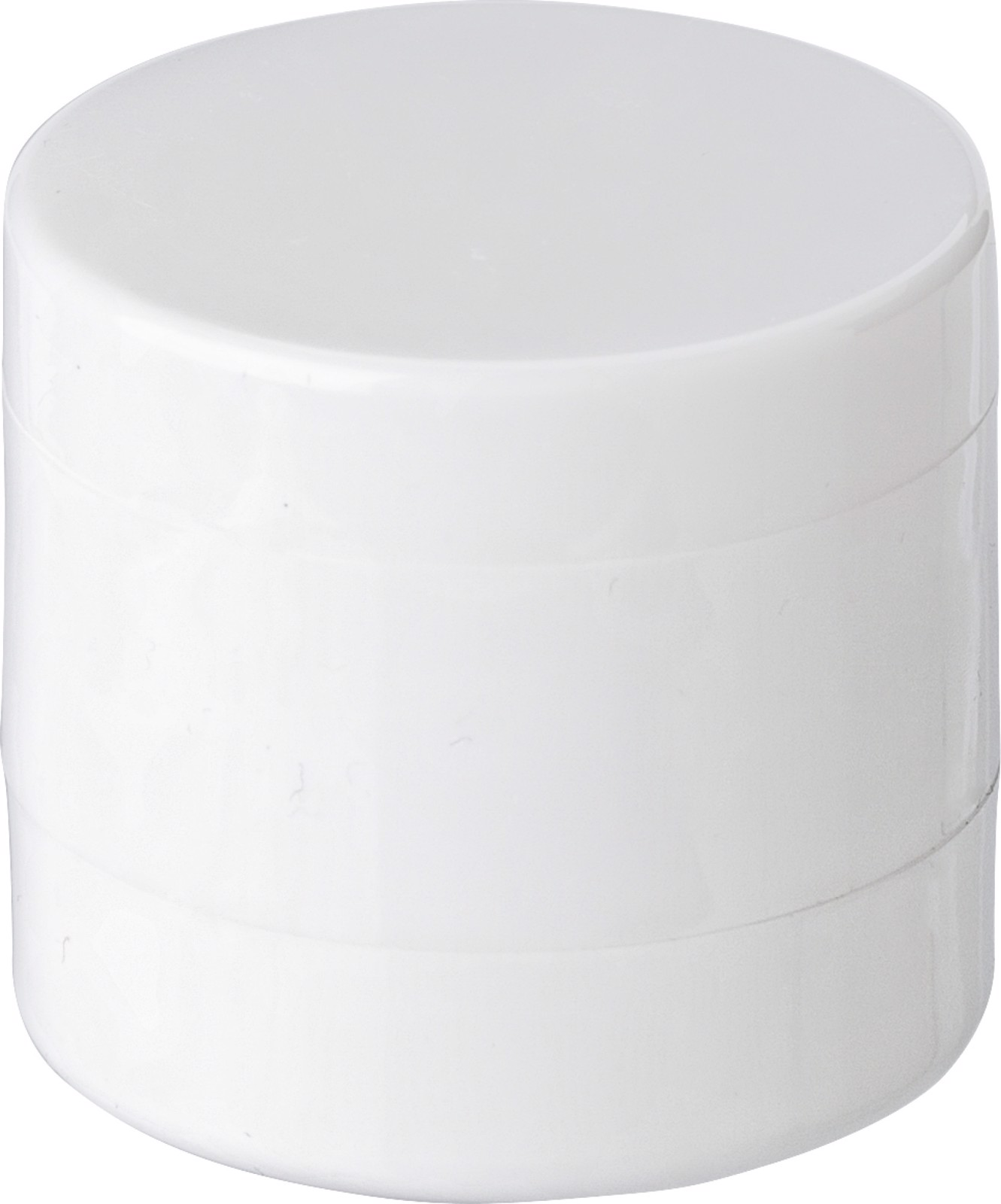 PS holder with mints and lip balm - White