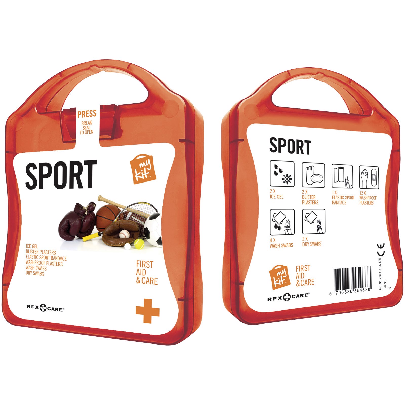 MyKit Sport first aid kit - Red