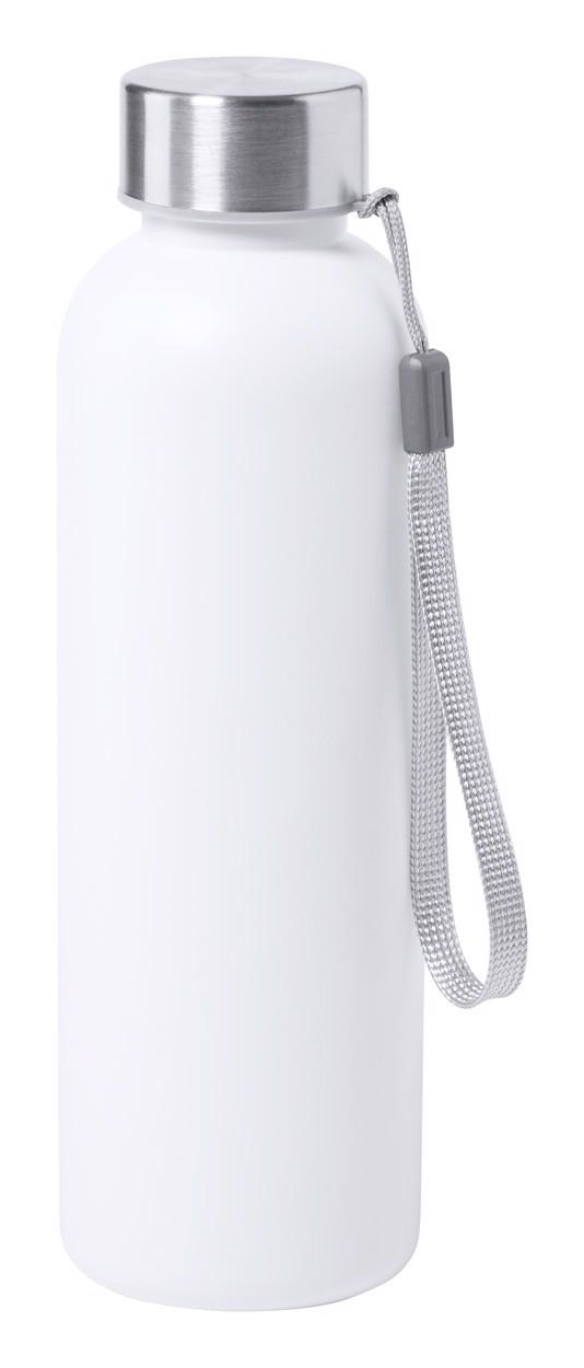 Antibacterial Sport Bottle Gliter - White