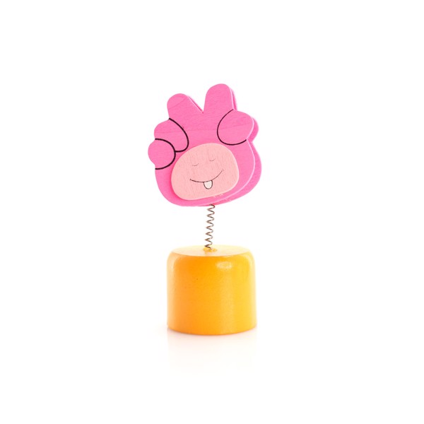 Clip Memo Holder Sharpener Hood - Fuchsia