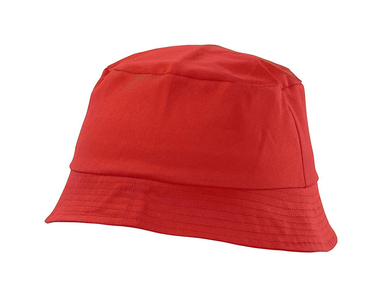 Plážový Klobouček Marvin - Červená