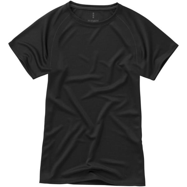 Dámské Tričko Niagara s krátkým rukávem, cool fit - Černá / M