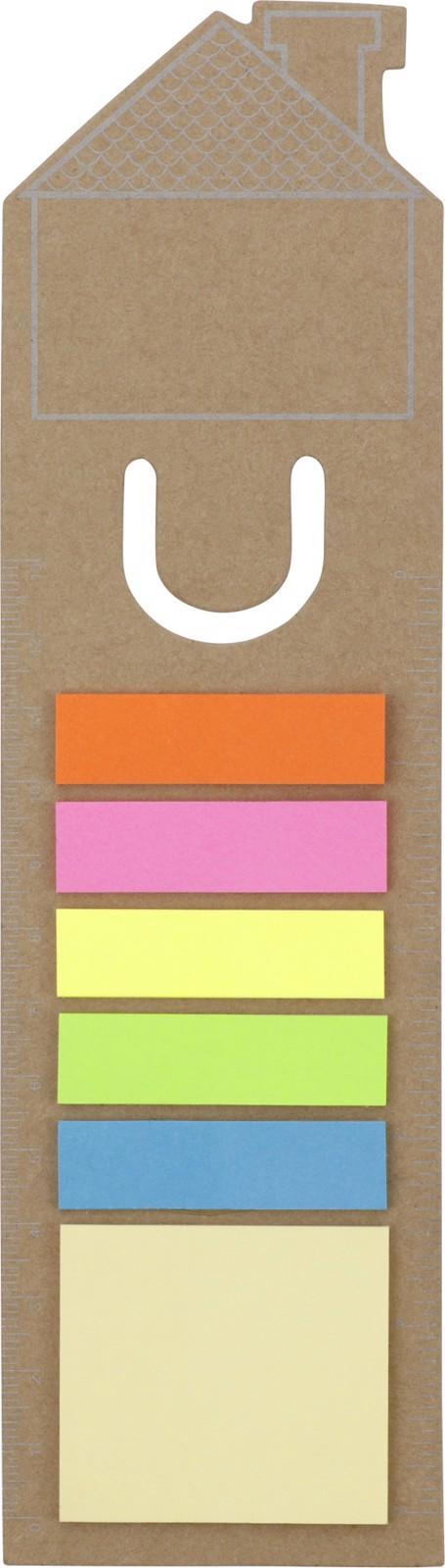 Marcapáginas de cartón - Brown