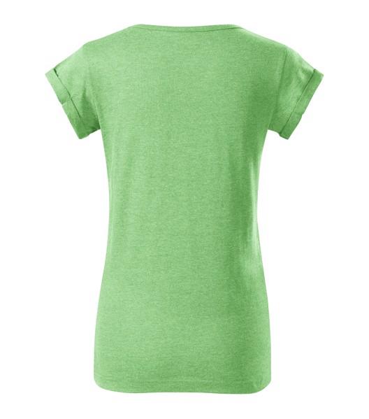 Tričko dámské Malfini Fusion - Zelený Melír / XS