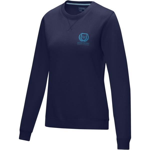 Jasper women's GOTS organic GRS recycled crewneck sweater - Navy / XL