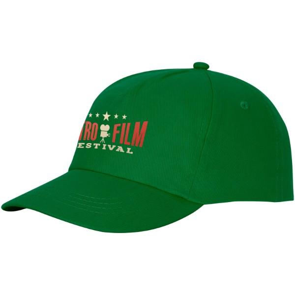 Feniks 5 panel cap - Fern Green