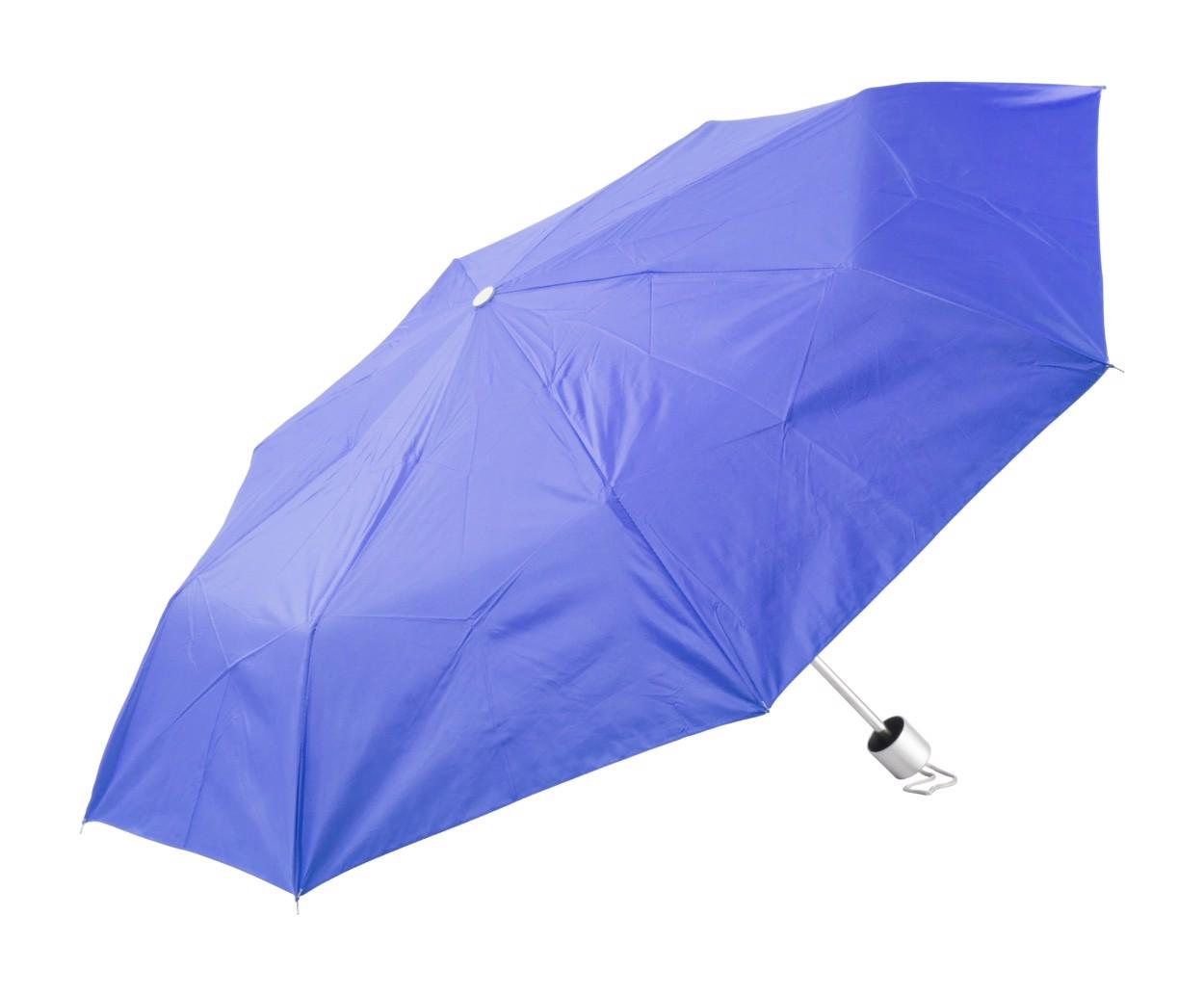 Umbrelă Susan - Albastru / Argintiu