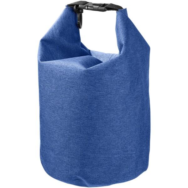 Traveller 5 l wasserdichte melierte Outdoor-Tasche - heather processblau