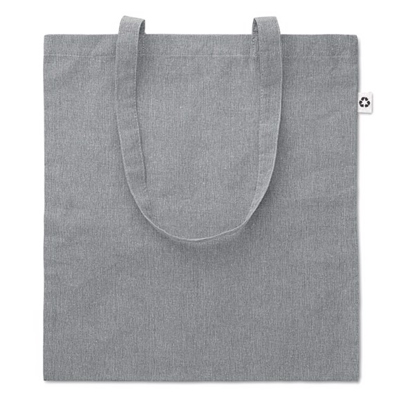 Shopping bag 2 tone 140 gr Cottonel Duo - Grey